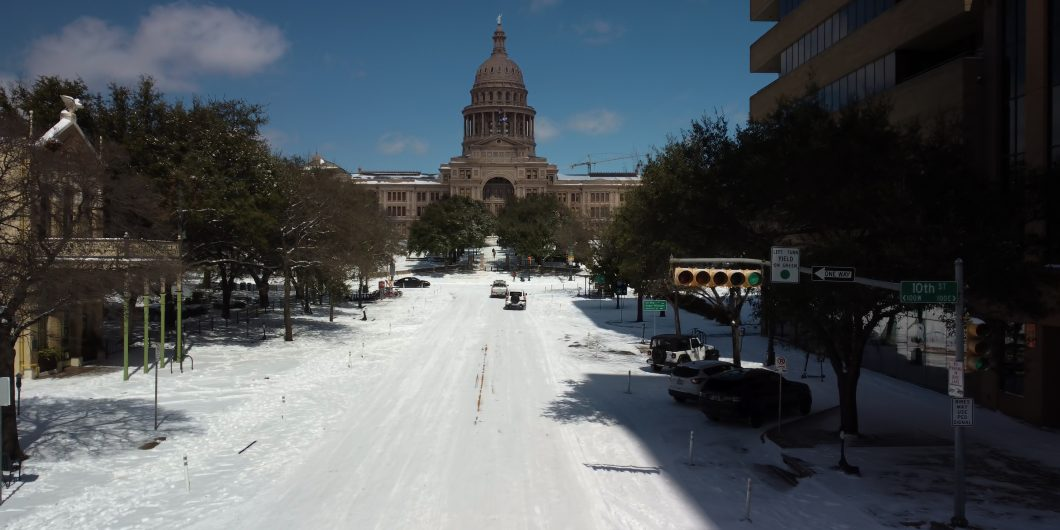 austin texas in snow