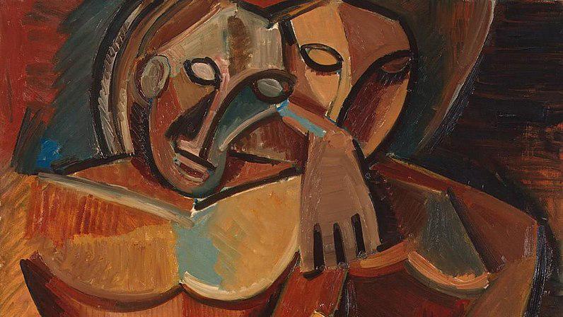 796px-Pablo_Picasso,_1908,_L'amitié_(Friendship,_Two_Nudes),_oil_on_canvas,_151.3_x_101.8_cm,_Hermitage_Museum
