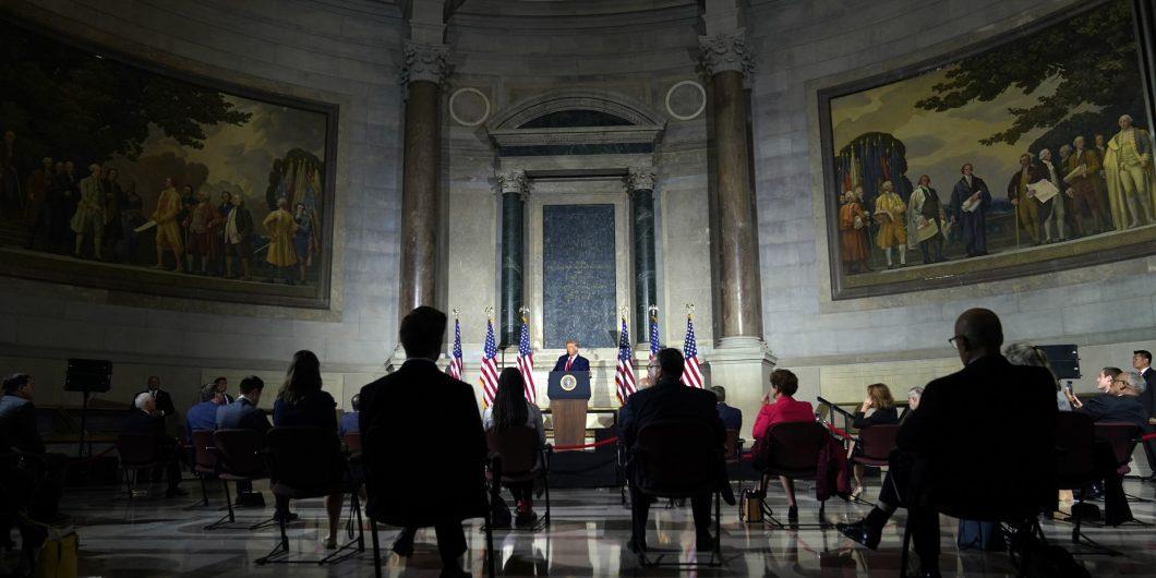Trump Announcing 1776 Commission