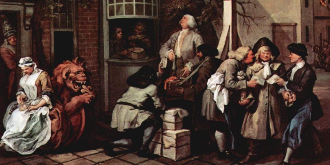 William_Hogarth Canvassing for Votes