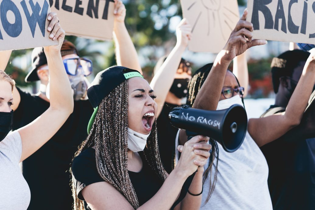 BLM student protest