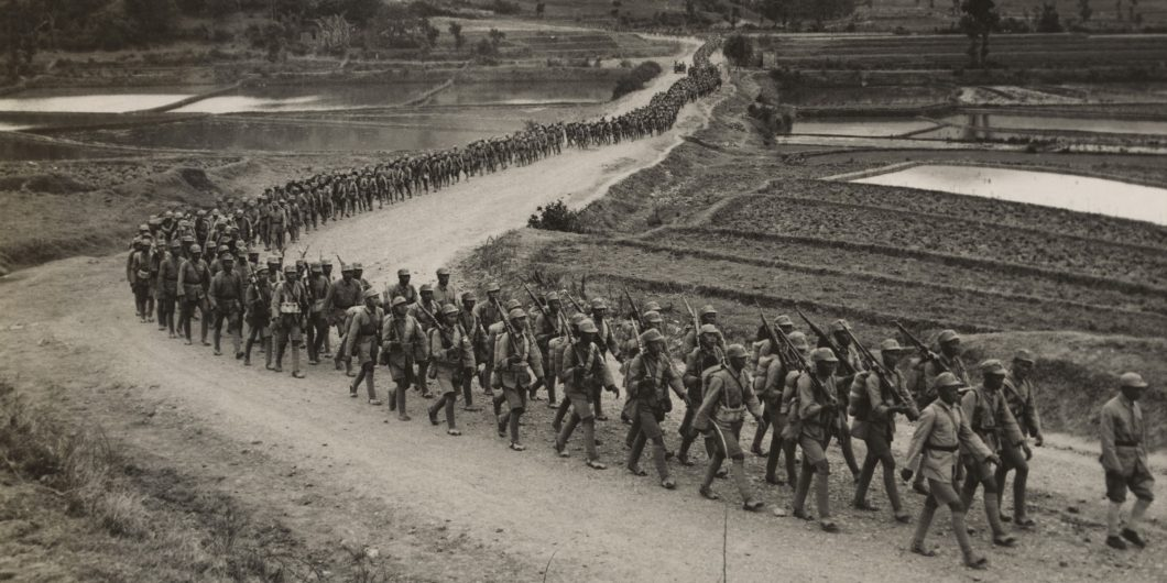 Chinese Soldiers WWII