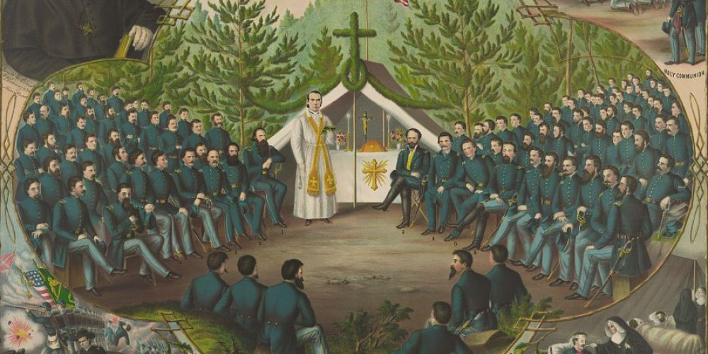 Divine Service by Rev. PP Cooney
