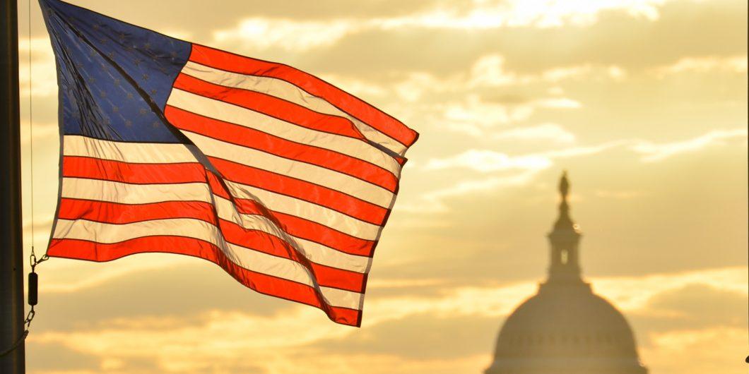 Flag at Capitol