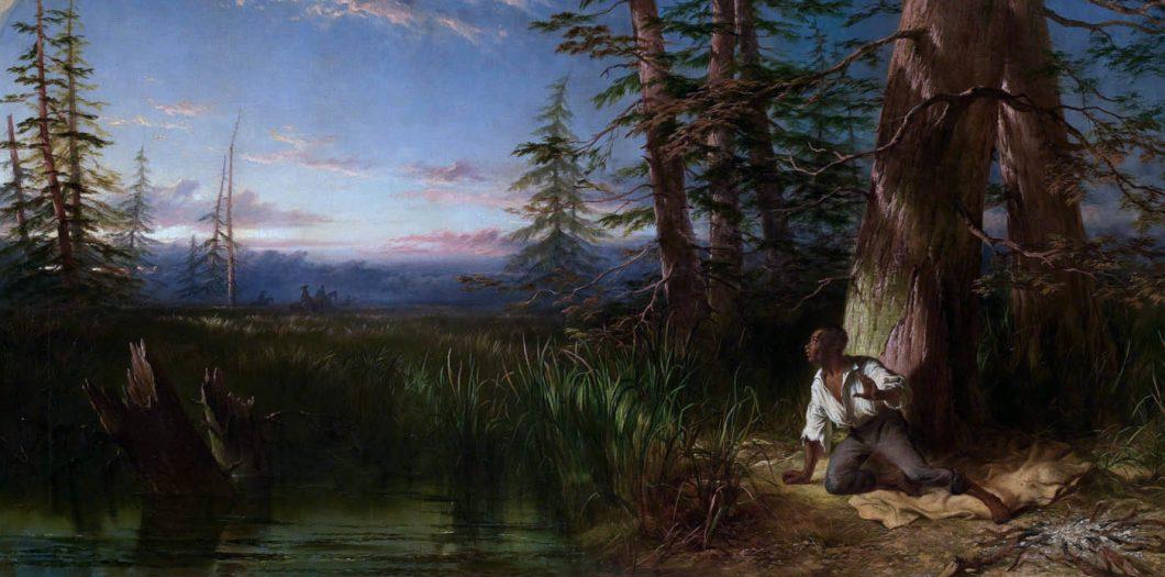 The_Fugitive_Slave by_John_Adam_Plimmer_Houston