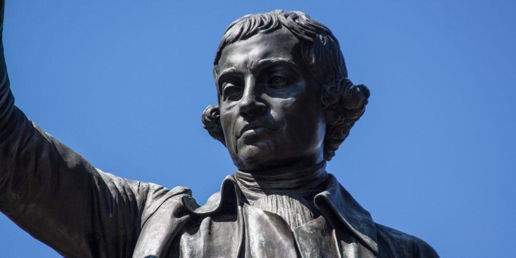Edmund Burke Statue Washington DC
