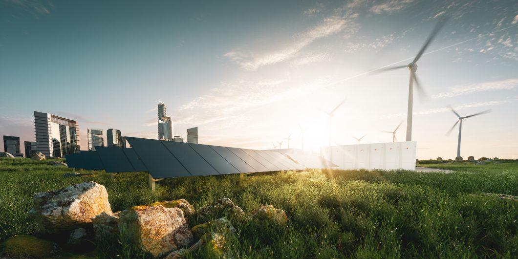 Environment Wind Mills