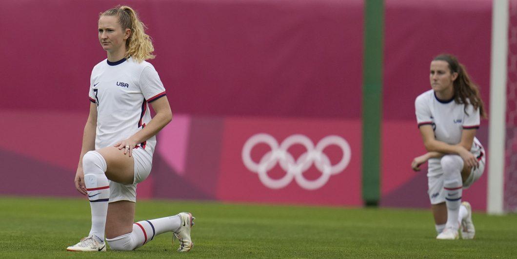Olympics Kneeling