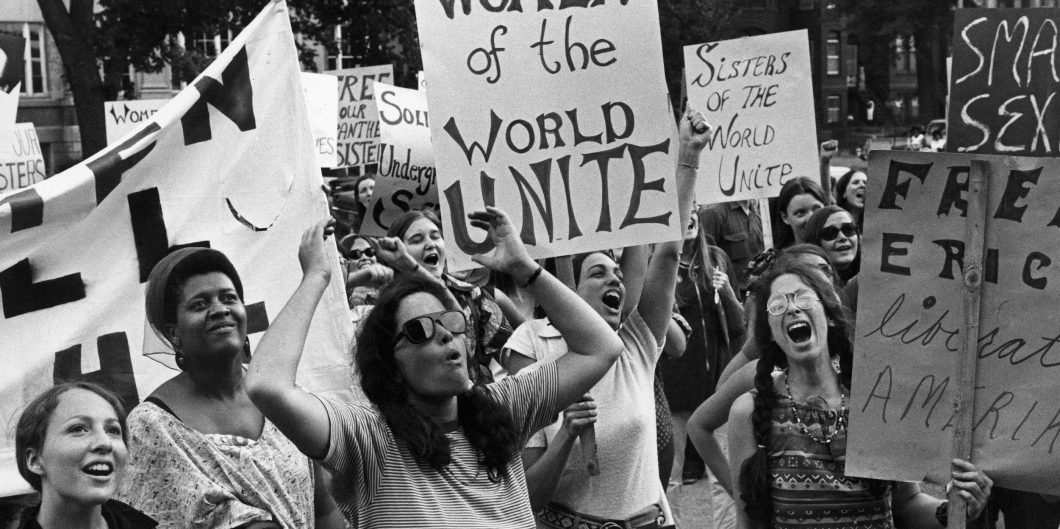 Women'S Liberation Movement In Washington, United States On August 26, 1970 –