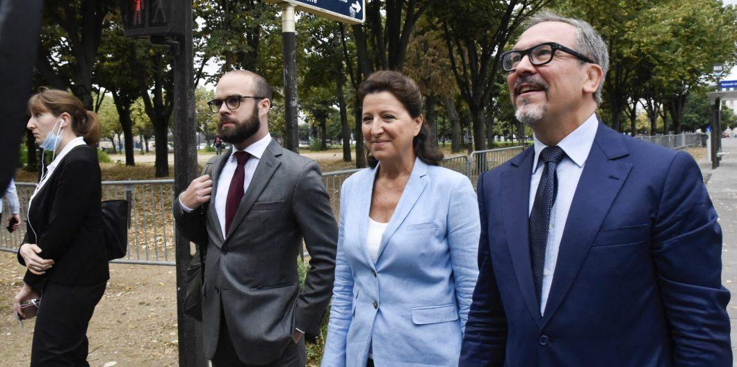 Former Health Minister Agnes Buzyn Arrives At The CJR – Paris