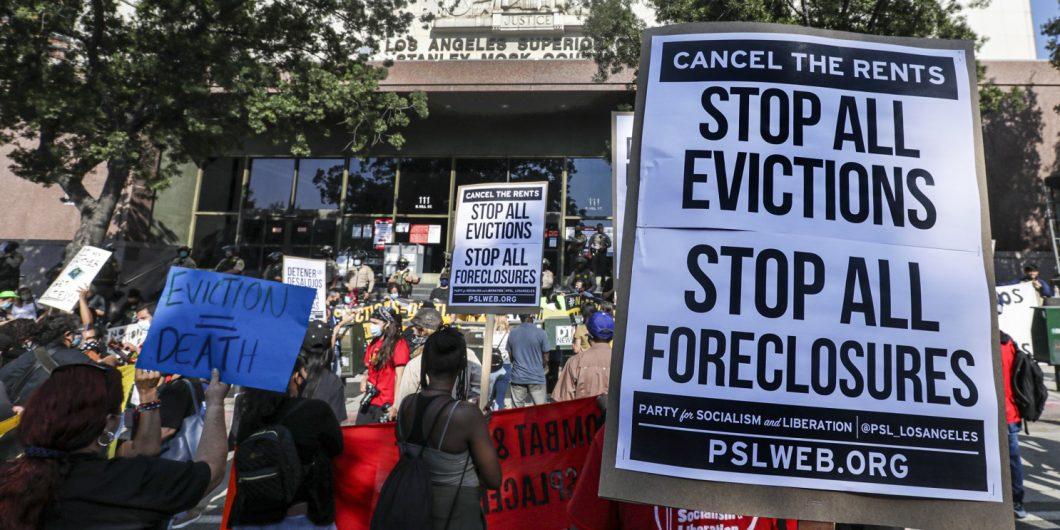 Los Angeles Eviction Moratorium Protests